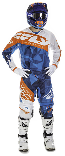 2017.5 Kinetic Mesh Racewear Crux Blue/White/Orange