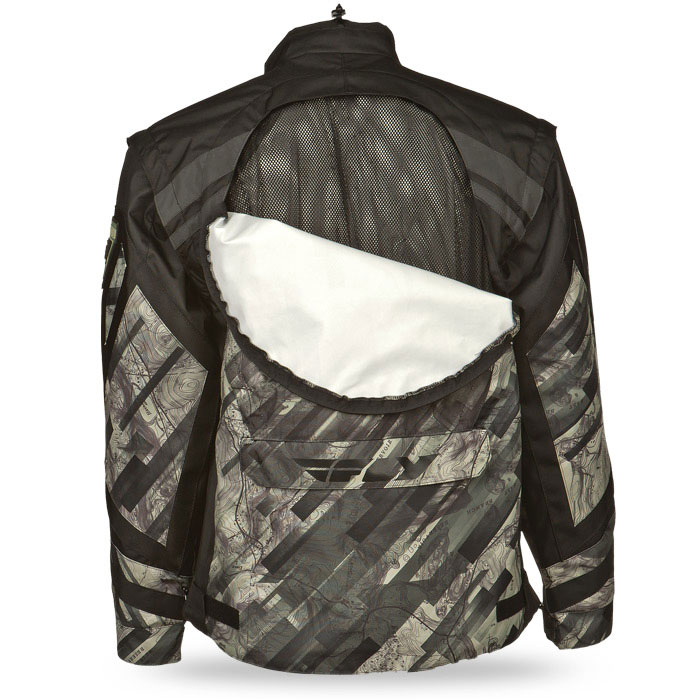 Patrol Jacket - Camo - Back