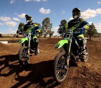 Kawasaki Australia Team Intro