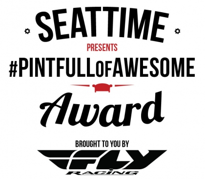 Seat Time #PintFullOfAwesome Award