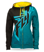 Black/Teal/Yellow