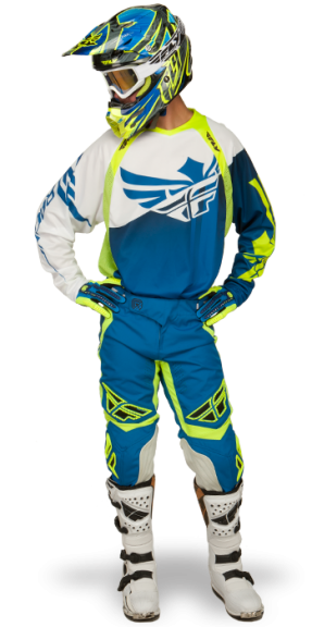 Evolution Clean Blue/Hi-Viz