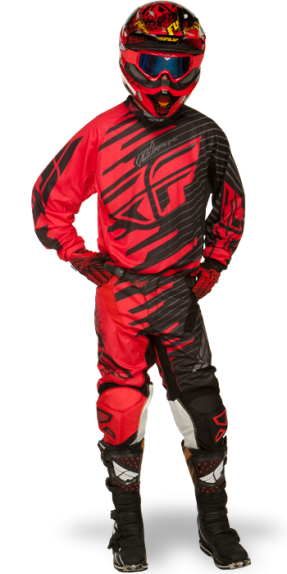 Kinetic Shock Red/Black