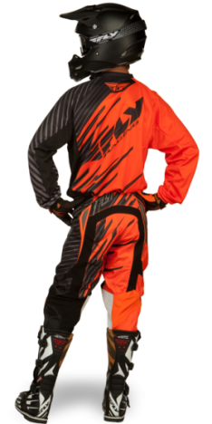 Kinetic Shock Orange/Black