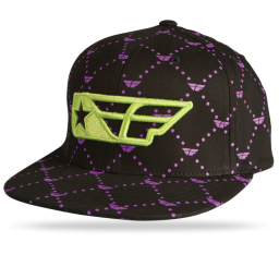 Black/Purple/Lime