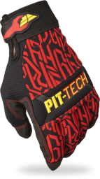 Pit Tech Pro Glove Red