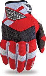 F-16 Glove Red/White