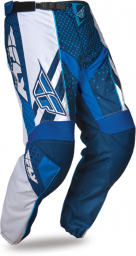 F-16 Pant Blue/White