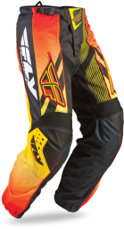 F-16 Pant Black/Orange/Yellow Ltd