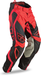Evolution Rev Pant Red