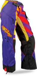 Kinetic Girl's Boot Pant Purple/Yellow