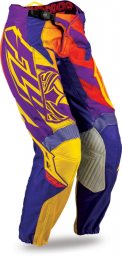 Kinetic Girl's Race Pant Purple/Yellow