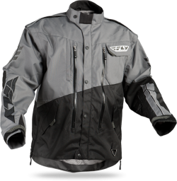 Patrol Jacket Black/Grey