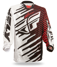 Kinetic Shock Mesh Jersey Black/Red