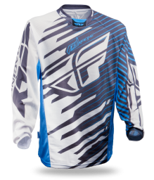 Kinetic Shock Mesh Jersey Blue/White