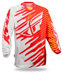 Kinetic Shock Mesh Jersey Red/Yellow