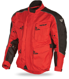 Terra Trek III Jacket Red