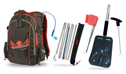 Back Country Kit Black/Red