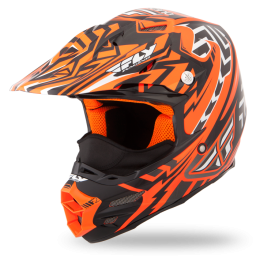 F2 Carbon Snow Helmet Orange