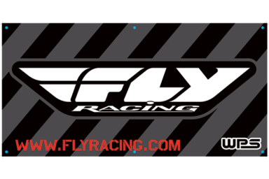 Black/White FLY Racing