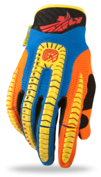 Evolution Glove Blue/Yellow/Orange