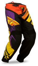 F-16 Pant Purple/Yellow LTD