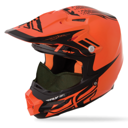 F2 Carbon Dubstep Snow Orange
