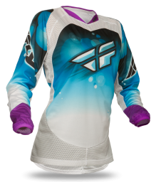 Kinetic Girl's Jersey Blue/White