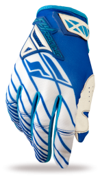 Kinetic Glove Blue/White