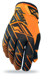 Kinetic Glove Orange/Black