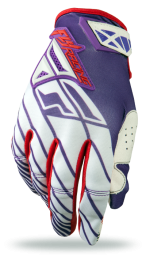Kinetic Glove White/Red/Purple