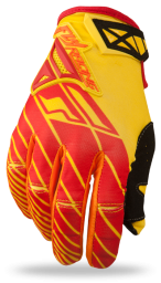 Kinetic Glove Red/Yellow
