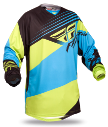 Kinetic Blocks Jersey Blue/Hi-Viz