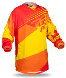 Kinetic Blocks Jersey Red/Yellow