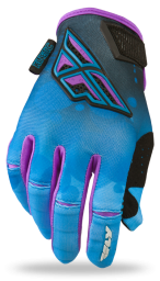 Kinetic Girl's Glove Blue
