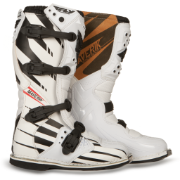 Maverik MX Adult Boot F4 White