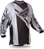 F-16 Black/White Jersey