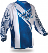 F-16 Blue/White Jersey