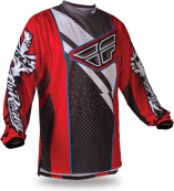 F-16 Red/Black Jersey