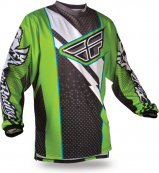 F-16 Green/Black Jersey