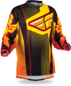 F-16 Black/Orange/Yellow Ltd Jersey