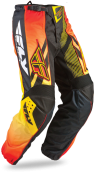 F-16 Black/Orange/Yellow Ltd Pant
