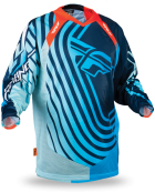 Evolution Sonar Blue/Light Blue Jersey
