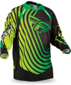 Evolution Sonar Green/Black Jersey