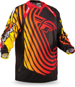Evolution Sonar Red/Black/Yellow Jersey