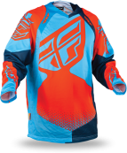 Evolution Rev Neon Orange/Blue Jersey