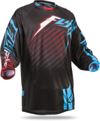 Kinetic RS Black/Maroon Jersey