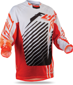 Kinetic RS Orange/White Jersey
