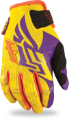 Kinetic Girl's Boot-Cut Purple/Yellow Glove