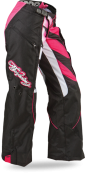 Boot-Cut Black/Pink Pant
